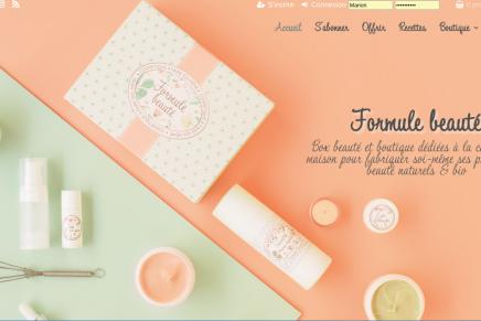 Formule beauté, une box pour faire tes cosmétiquestoi-même